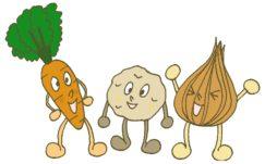野菜トリオ
